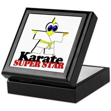 Karate Super Star Keepsake Box