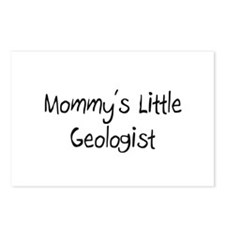 Mommy's Little Geologist Postcards (Package of 8)