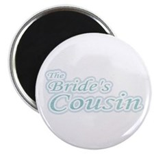 Blue Bride's Cousin Magnet