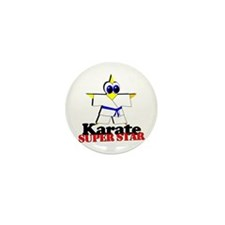 Karate Super Star Mini Button (100 pack)