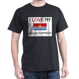 I Love My Kirghiz Boyfriend T-Shirt