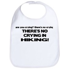 There's No Crying in Hiking Bib