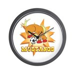 Mustangs Soccer Wall Clock