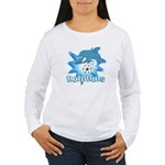 Dolphins Soccer Women's Long Sleeve T-Shirt