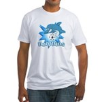 Dolphins Soccer Fitted T-Shirt