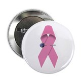 BREAST CANCER SURVIVOR / AWARENESS RIBBON Button