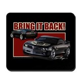 Bring It Back In Black Mousepad