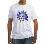 Soccer Grandpa Fitted T-Shirt