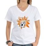 Soccer Grandma Women's V-Neck T-Shirt