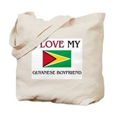 I Love My Guyanese Boyfriend Tote Bag
