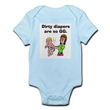 Dirty Diapers Infant Onesie/Creeper
