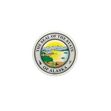 ALASKA-SEAL Mini Button (10 pack)