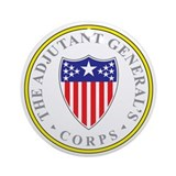 ADJUTANT-GENERAL-CORP Ornament (Round)