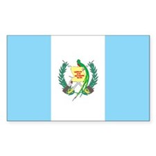GUATEMALA Rectangle Sticker 50 pk)