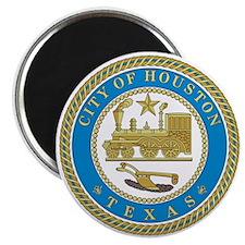 HOUSTON-CITY-SEAL 2.25 Magnet (10 pack)