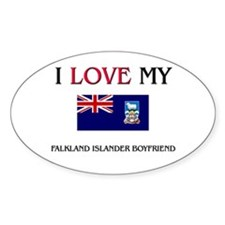 I Love My Falkland Islander Boyfriend Decal