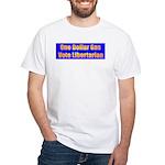 1 Dollar Gas White T-Shirt