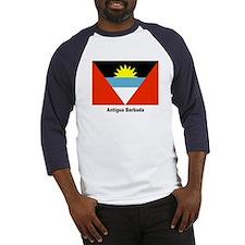 Antigua Barbuda Flag Baseball Jersey