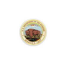 DEPARTMENT-OF-THE-INTERIOR- Mini Button (100 pack)