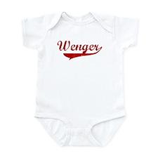 Wenger (red vintage) Infant Bodysuit