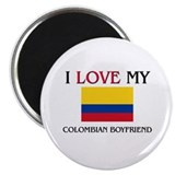 I Love My Colombian Boyfriend Magnet