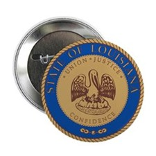 LOUISIANA-SEAL 2.25 Button (100 pack)