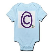 IOW Copyright Infant Creeper