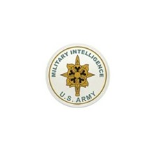 MILITARY-INTELLIGENCE Mini Button (10 pack)