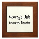 Mommy's Little Executive Director Framed Tile
