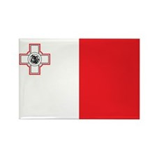 MALTA Rectangle Magnet (100 pack)
