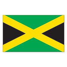 JAMAICA Rectangle Decal