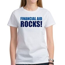Financial Aid Rocks! Tee