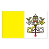 VATICAN Rectangle Decal