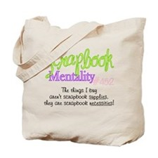 Scrapbook Mentality #452 Tote Bag