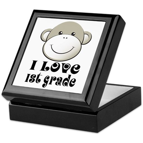 I Love First Grade Keepsake Box