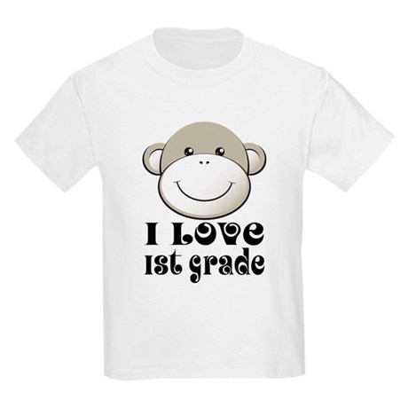 I Love First Grade Kids Light T-Shirt