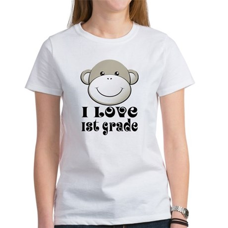 I Love First Grade Women's T-Shirt