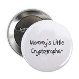 "Mommy's Little Cryptographer 2.25"" Button (10 pack"