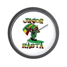 Junior rasta! Wall Clock