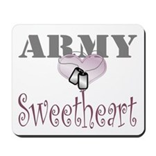 army sweetheart Mousepad