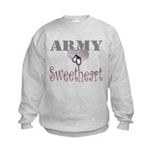 army sweetheart Sweatshirt