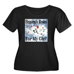 Heavenly Roses For My Girl! Women's Plus Size Scoo