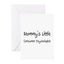 Mommy's Little Consumer Psychologist Greeting Card
