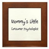 Mommy's Little Consumer Psychologist Framed Tile