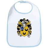 Hodges Family Crest Bib