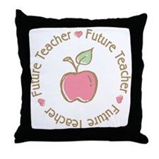 Future Teacher Throw Pillow