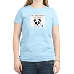 BEAR WITHOUT COFFEE Women's Light T-Shirt