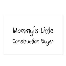 Mommy's Little Construction Buyer Postcards (Packa