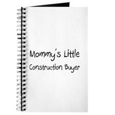 Mommy's Little Construction Buyer Journal