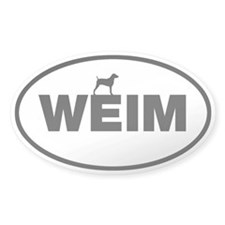 WEIM Oval Decal